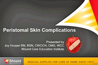 Skin complications video