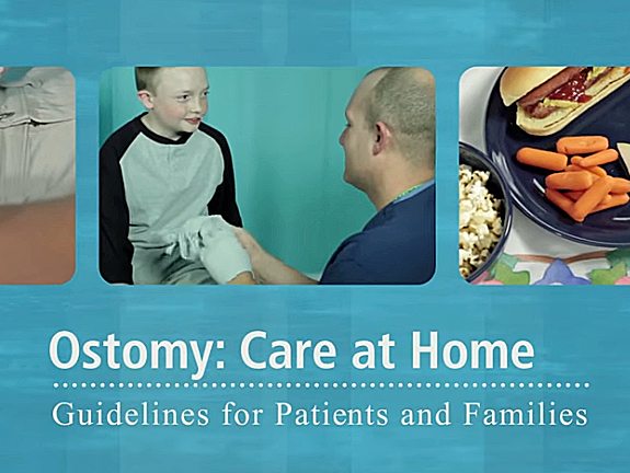 Ostomy Care at Home video